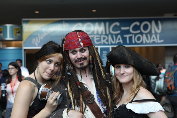 Jack Sparrow is a total playa.