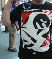 Haven't seen this OBEY t-shirt before.