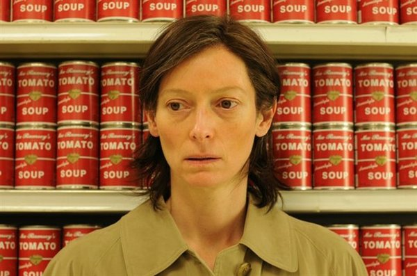"The splendid Tilda Swinton in ""We Need to Talk About Kevin."""
