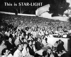 Crowds filled the Starlight Bowl, home to Starlight Theatre, in the 1950s. 