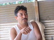 Americo Barahona, 43, says going to the US illegally is too risky.