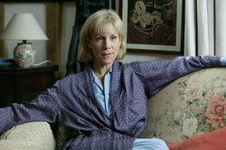 "Juliet Stevenson as Diana Ellerby in ""Inspector Lewis, Series IV: Old, Unhappy, Far Off Things."""
