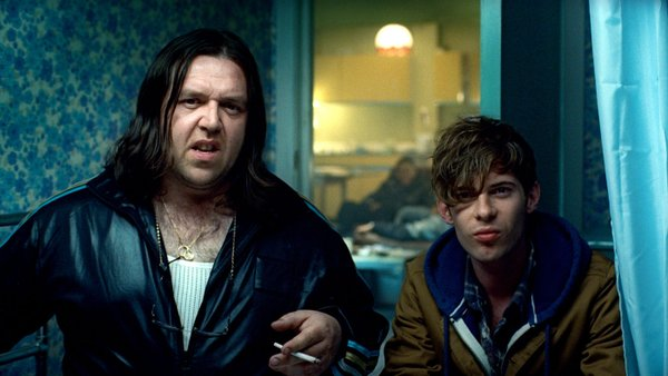 "Nick Frost makes a cameo as a pothead in ""Attack the Block."""