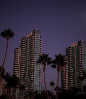 Downtown is dark after a massive blackout hit Southern California September 8, 2011 in San Diego, California.