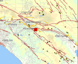 A magnitude 4.2 earthquake struck near Moreno Valley and was felt in northern San Diego County on Sept. 14, 2011.