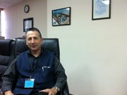Cobham plant manager Javier Urquizo has been working in the Tijuana aerospace plant for 15 years.
