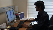 Dibyendu Sengupta studies Kawasaki disease at the UCSD Jacobs School of Engineering. He'd like to stay in the U.S. after he finishes his PdD but knows it may be hard to find a company of his liking to sponsor his work visa.