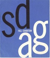 Exhibition catalogue, California South, San Diego Art Guild Exhibition, Fall 1962, design by Tom Gould. 