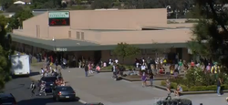 Students walk around Patrick Henry High School in San Diego on Oct. 31, 2011.