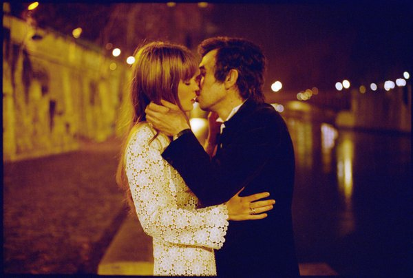 "Lucy Gordon is Jane Birkin and Eric Elmosnino is Serge Gainsbourg in ""Gainsbourg: A Heroic Life."""