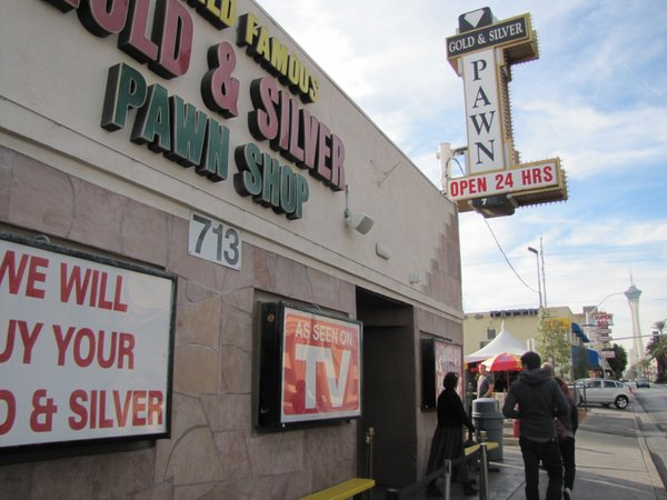 Pawn Stars, a show about a real Las Vegas pawn shop, is a TV hit and has become a tourist draw.