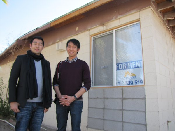 Kevin Chu and his colleague Christian Santika work for the Hong Kong office of The Creations Group, an international investment firm that is buying up distressed properties in several U.S. cities, including Las Vegas. Local realtors are hoping more foreign buyers will do the same.