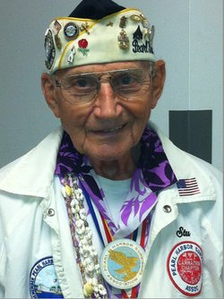 Stuart Hedley, President, Pearl Harbor Survivor Association, Chapter 13