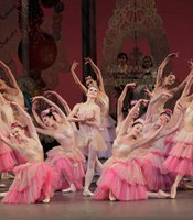 "Scene from ""The Nutcracker"" with New York City Ballet company."