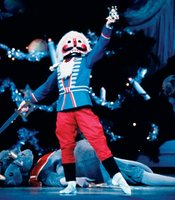 New York City Ballet dancer as The Nutcracker.