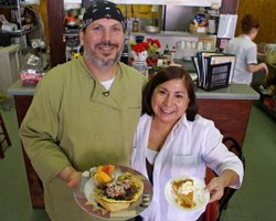 "As featured in ""Breakfast Special,"" at La Herencia cafe, a little Cuban cafe in St. Augustine, Florida, Manny and Janett Herrero offer savory and sweet breakfast choices."