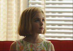 Kiernan Shipka as Sally Draper on AMC&#39;s &quot;Mad Men,&quot; which is scheduled to return this year. 