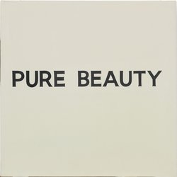 Pure Beauty 1966-1968, Acrylic on canvas  John Baldessari, Courtesy of Baldessari Studio and Glenstone
