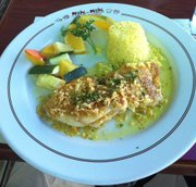 Filete Binete at Mahi Mahi restaurant in Ensenada.