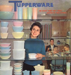 Tupperware catalog, circa 1958.