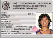 In order to vote, Mexican citizens must have a voter card. Since the cards are only issued in Mexico, the requirement has been a barrier for some expats wishing to participate.
