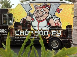 A food truck in San Diego on February 27, 2012.