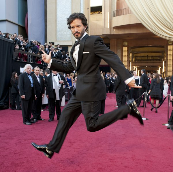 "Best Song winner Bret McKenzie for ""The Muppets."""