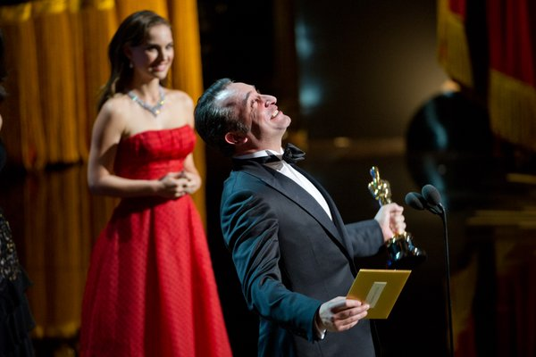 Jean Dujardin gave the night's most charming acceptance speech. Every time he smiled I expected his teeth to sparkle.