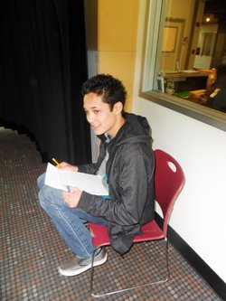 Pascal Reyes is a senior at High Tech High. His sound story &quot;Tag,&quot; is about a graffiti artist who roams the city at night. 
