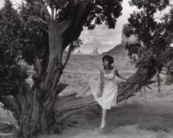 Cindy Sherman. Untitled Film Still #43. 1979. Gelatin silver print. 7 9/16 x 9 7/16 (19.2 x 24 cm). The Museum of Modern Art, New York. Acquired through the generosity of Sid R. Bass.  2008 
