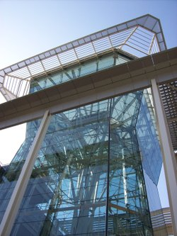 The glass tower at CalPERS headquarters in downtown Sacramento.