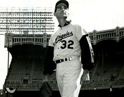Hall of Fame pitcher Sandy Koufax.
