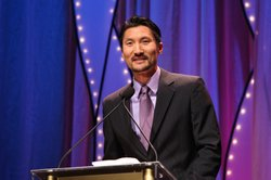 "Yul Kwon, of PBS' ""America Revealed,"" hosted the 2011 Local Heroes Awards at KPBS."