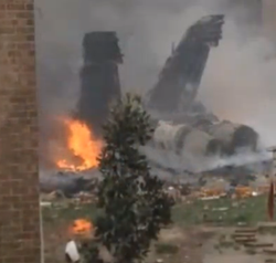 Navy Jet Crashes into Virginia Apartments