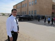 Cesar Uribe is a middle school principal in El Paso. He says his education made all the difference in his voting habits.
