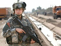 Woman in the military