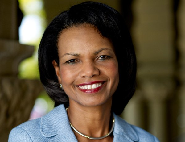Above: Condoleezza Rice