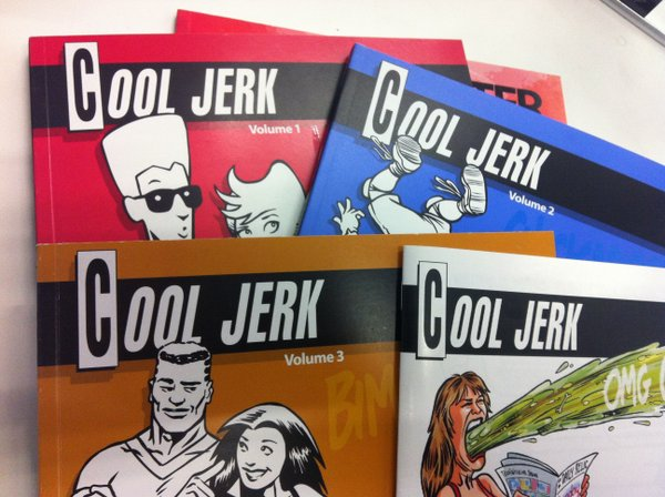 "The ""Cool Jerk"" books."
