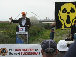 Rally near San Onofre 4/29/12