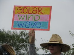 Sign, Rally, San Onofre 4/29/2012
