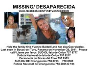 Yvonne Baldelli was last seen in Panama.