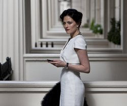 "Lara Pulver as Irene Adler in ""A Scandal In Belgravia."""