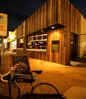 Exterior of Raglan Public House in Point Loma, designed by Michael Soriano.