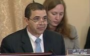Congressman Henry Cuellar (D-Texas) talks during a hearing on the Border Patrol's new strategic plan.