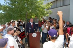 Arizona State Superintendent Tom Horne calls for the banning of ethnic studies classes in Tucson.