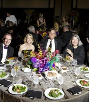 KPBS Gala guests included Mel and Linda Katz, Phil and Catherine Blair, Darlene Shiley, and Antiques Roadshow's Mark L. Walberg.