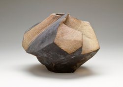 Slab-built pot, Malcolm McClain, early 1960s