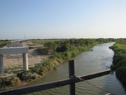 This new rail bridge under construction linking Brownsville, Texas and Matamoros, Mexico is a symbol of the growing trade relations between the two countries.