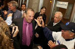 Bob Filner at Golden Hall on June 5, 2012.