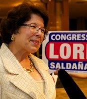 Lori Saldana at Golden Hall on June 5, 2012.